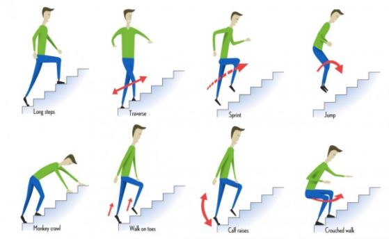 Nanoworkouts Stair Options