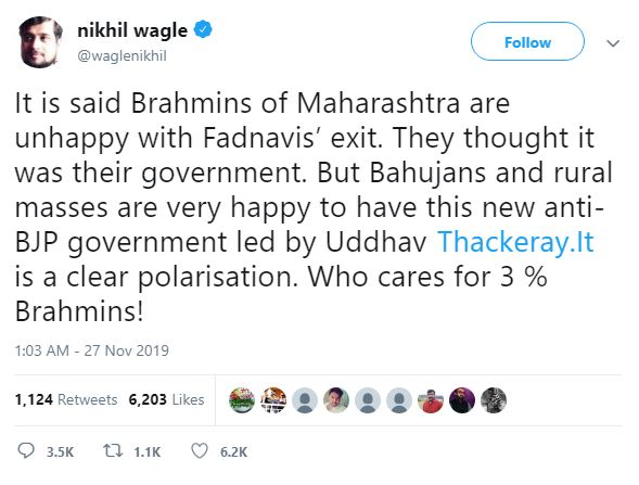 3 Percent Brahmin